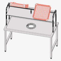 Accessories For Dishwashers Delivery Tables
