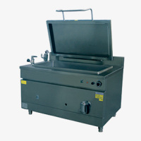 Large Capacity Equipment Gastronorm Boiling Pans