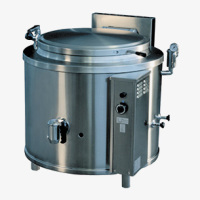 Large Capacity Equipment Round Boiling Pans