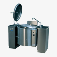 Large Capacity Equipment Tilting Boiling Pans