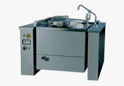 Large Capacity Equipment / Tilting Boiling Pans With Mixer