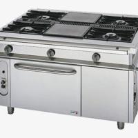 Non Modular Cooking Gas Ranges With Pass Through Oven