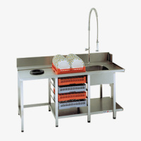 Rack Type Dishwashers Delivery Sorting Tables