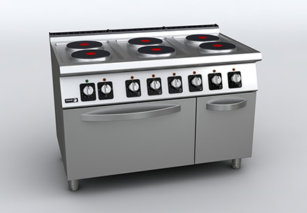 700-kore-electric-cooker-with-oven-C-E761